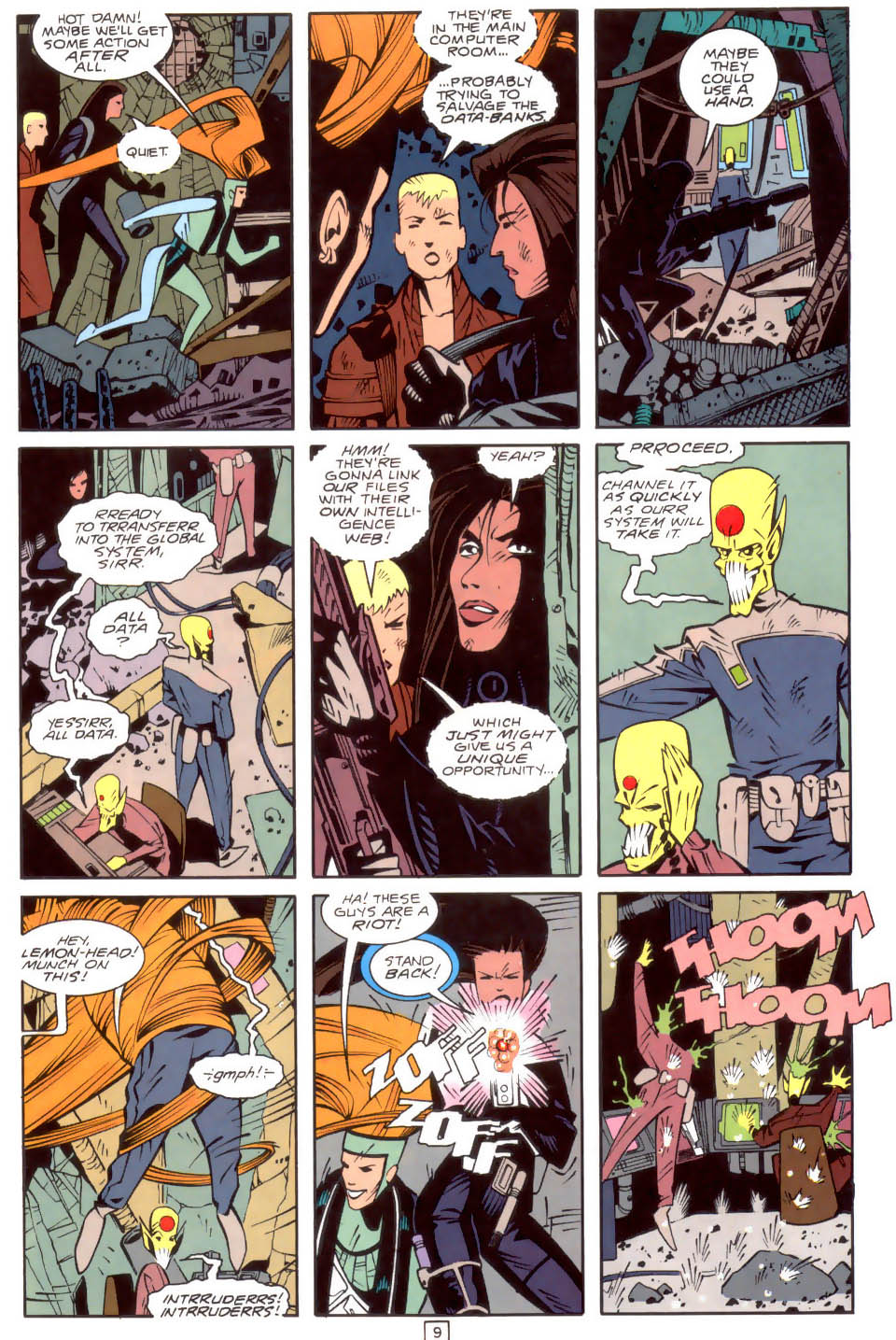 Legion of Super-Heroes (1989) 34 Page 9