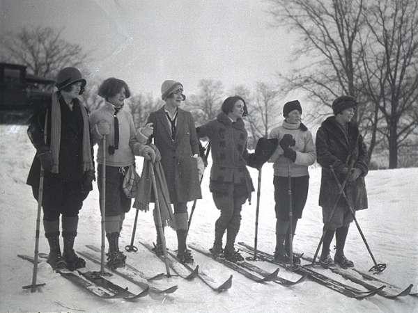 Blame It On The Boogie Vintage Ski Photos