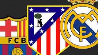 Barcelona Atletico RealMadrid