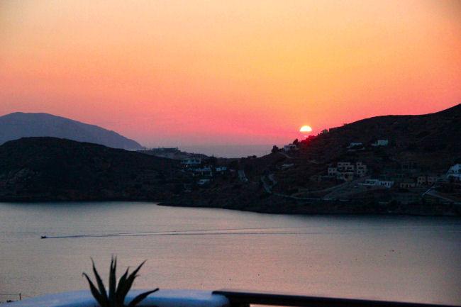 Ios ostrvo zalazak sunca