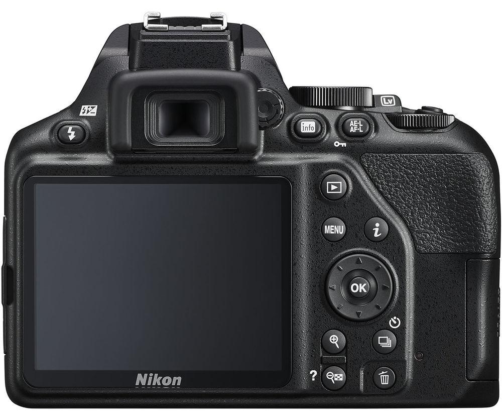 Nikon D3500, вид сзади