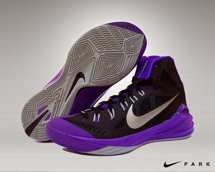 hot sales 7b14a 35261 Nike Hyperdunk 2014 purple colorway