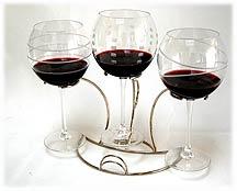Wine flight holders