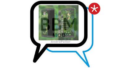BBM Mod TINKERBELL v2.13.1.14 Apk Terbaru 2016