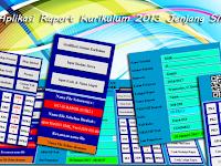 Aplikasi Raport Kurikulum 2013 Jenjang SMK dengan Format Excel
