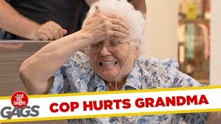 Grandma Gets Knocked Out – Just For Laughs Gags