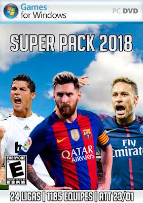Brasfoot 2018 Super Pack, pack de patches, pack com 24 ligas, patch com 1185 equipes, todos os estaduais para brasfoot 2018
