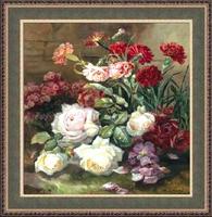 Рози и карамфили