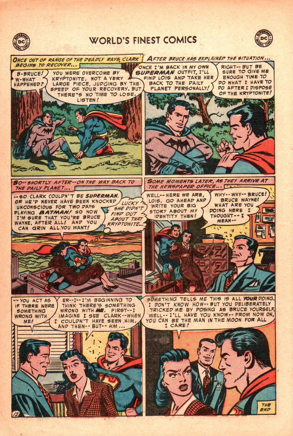 Read online World's Finest Comics comic -  Issue #71 - 16