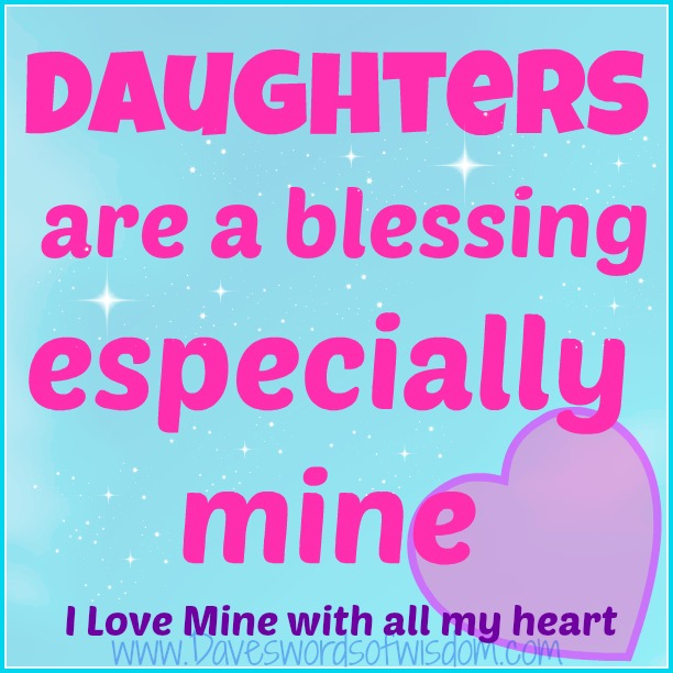 daughters are a blessing