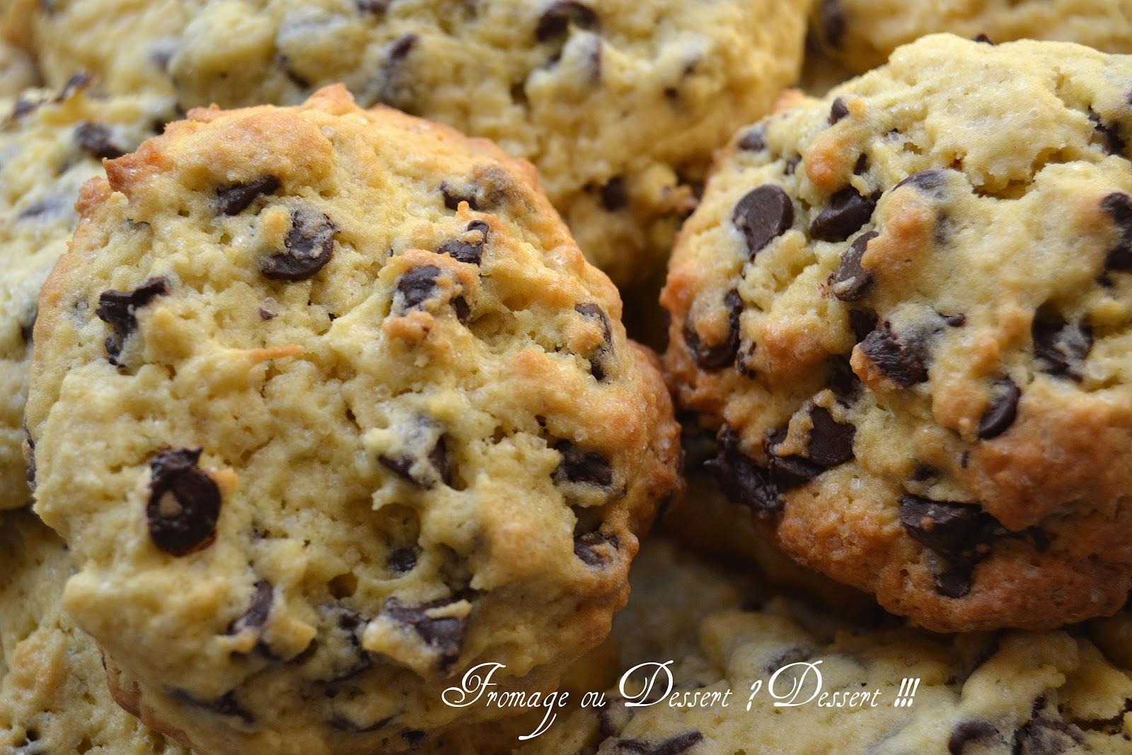 fromage ou dessert dessert cookies ultra moelleux. Black Bedroom Furniture Sets. Home Design Ideas