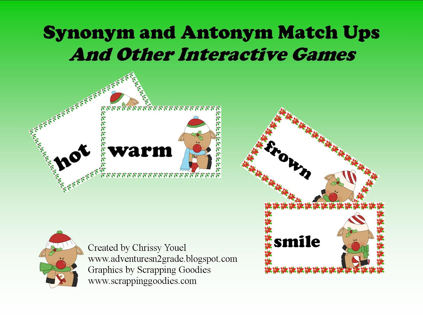 What Does the Fox Read?: Synonyms and Antonyms Plus a FREEBIE!