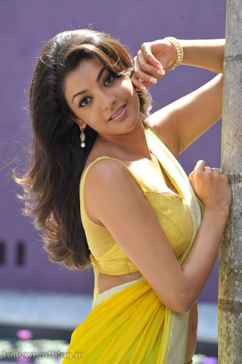 Kajal agarwal in hot saree pics south indian actress for Latest hottest pics