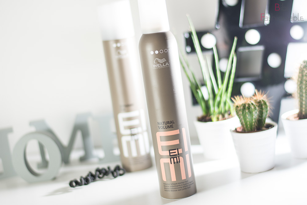 easy Beachwaves ohne Hitze Wella EIMI Natural Volume Volumen Schaum leichter Halt