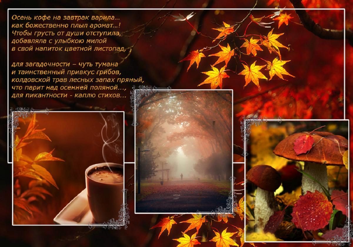 доброе утро картинки со стихами про осень первом творении женщина