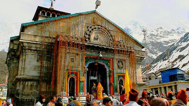 kedarnath temple- uttarakhand