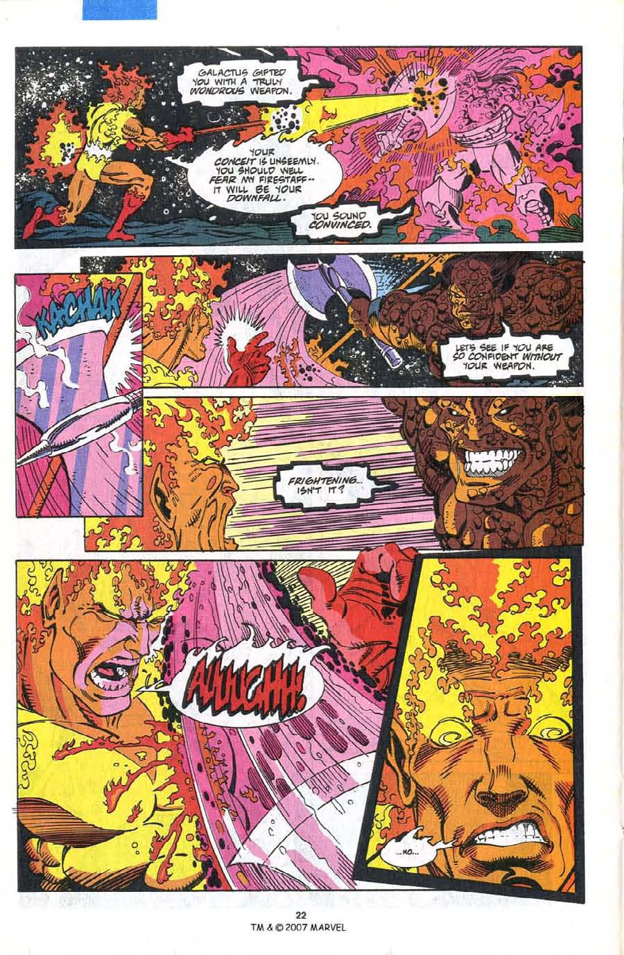 Read online Silver Surfer (1987) comic -  Issue #75 - 24