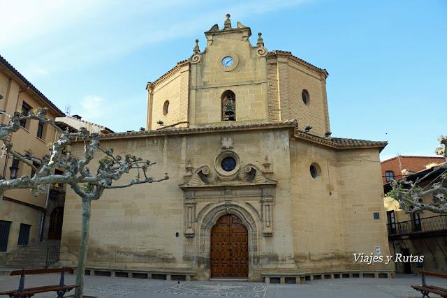 Ermita de la Virgen de la Plaza de la Plaza Mayor de Elciego, Álava
