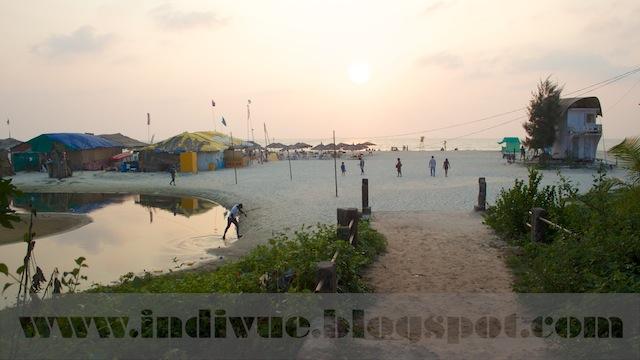 Majorda Beach, Goa, Intia
