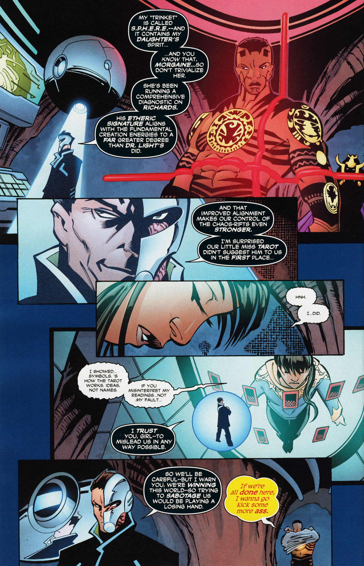 Read online Trinity (2008) comic -  Issue #36 - 22