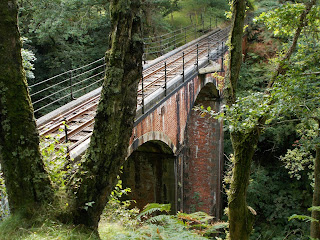 tal y llyn railway viaduct
