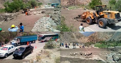 Resultado de imagen para huaycos en la region lima