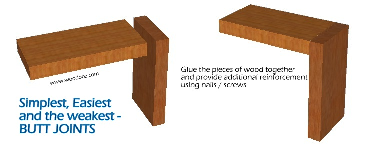 Butt Joints Simplest Easiest And The Weakest Indian