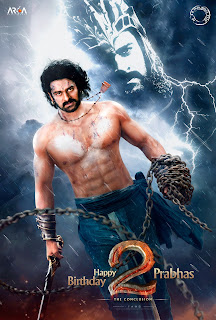 Baahubali 2 – First Look – Wishes Happy Birthday to Prabhas