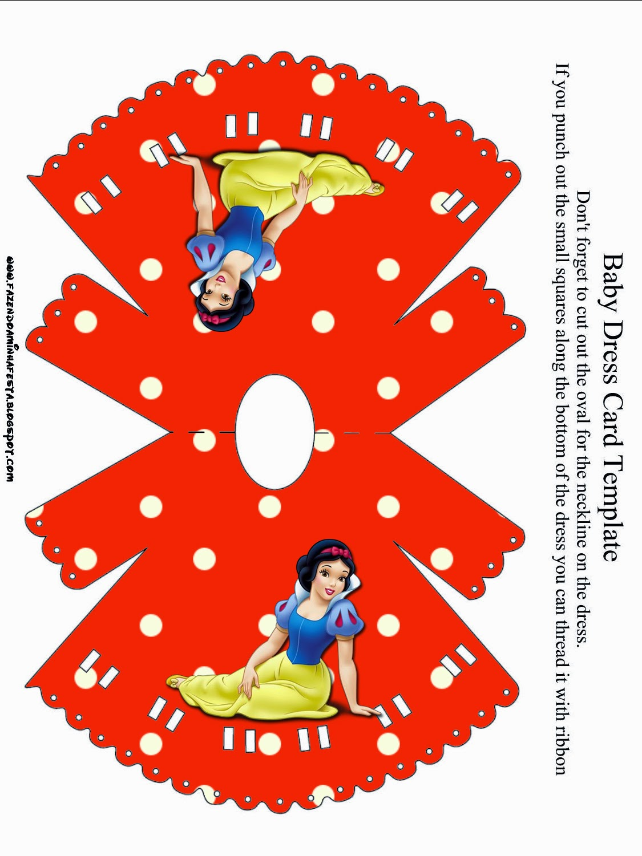 snow white free printable invitations