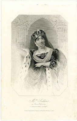Print of Sarah Siddons as Queen Katherine