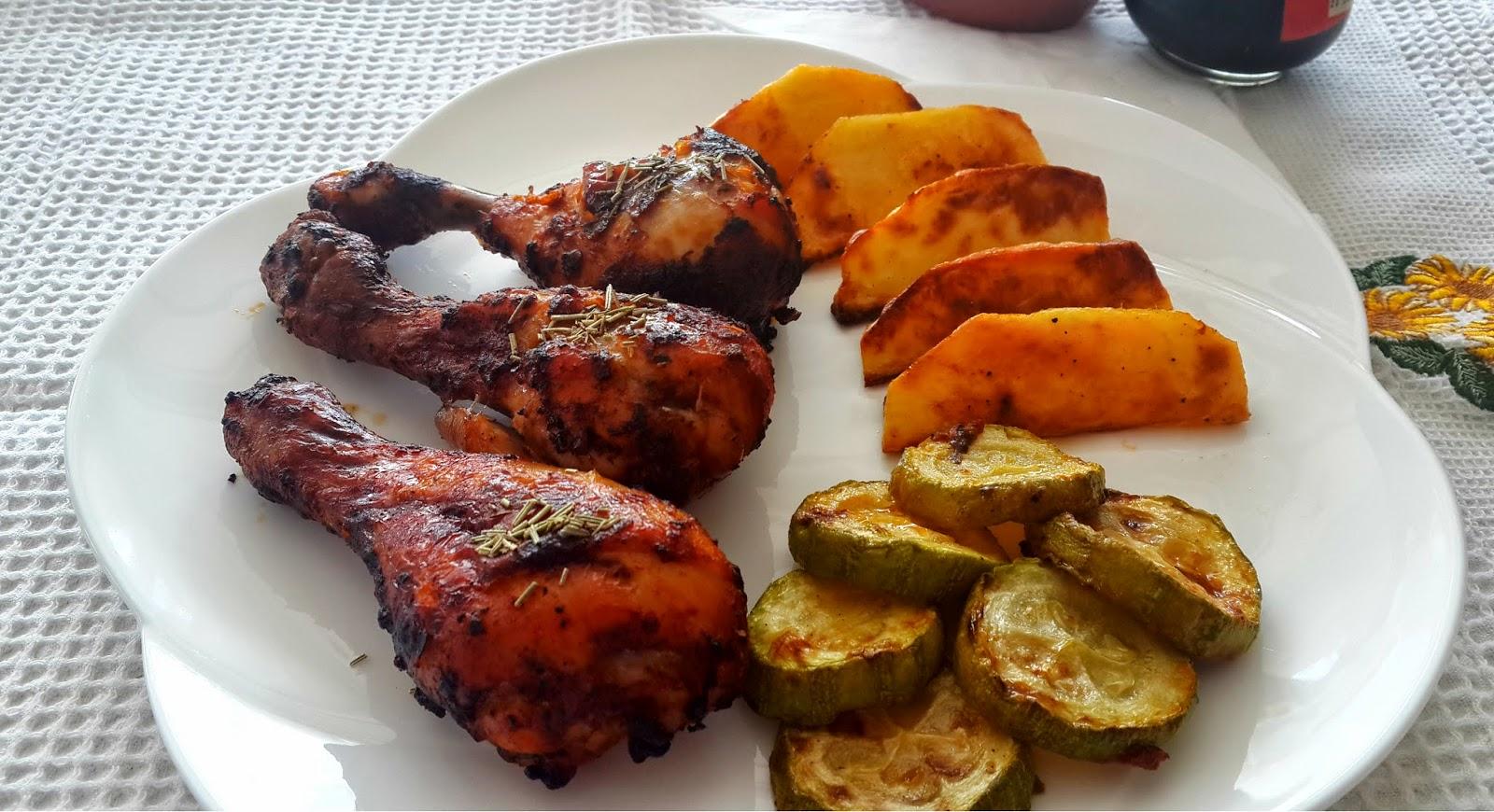 Baharatlı, tavuk, butları, tarifi, yemek, et, lezzetli, fırın, lezzetli, kisnisotu, kişniş otu
