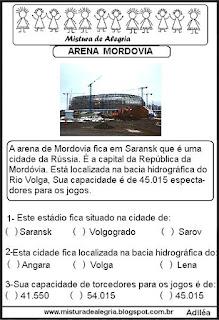 Arena Mordovia copa mundial Rússia