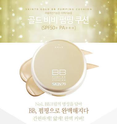 Skin79 Gold BB Pumping Cushion