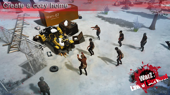 WarZ: Law of Survival Mod Apk Android