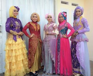 Model Kebaya Gaun Muslimah
