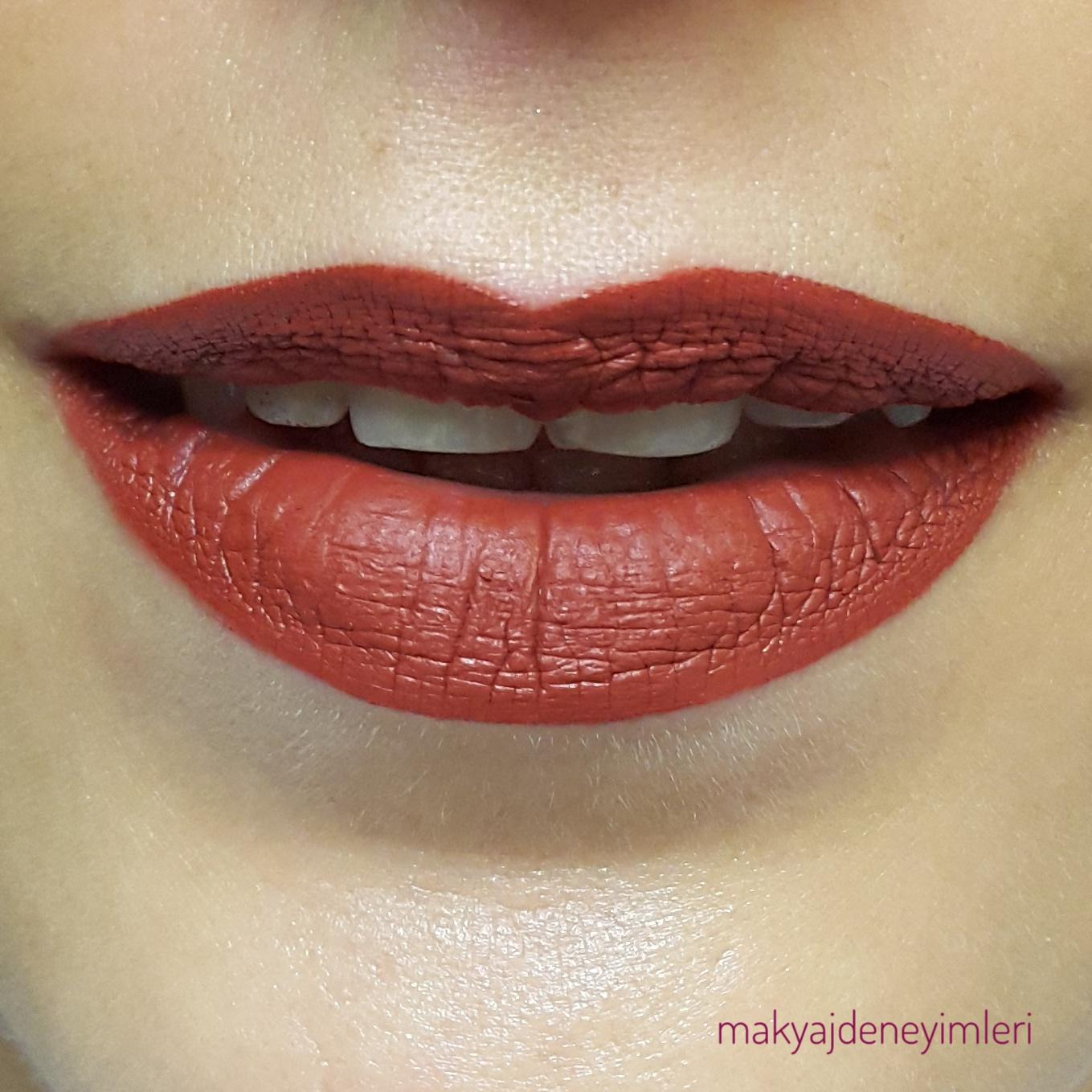 Sephora Cream Lip Stain Likit Mat Ruj 25 Numara Makyaj Deneyimleri