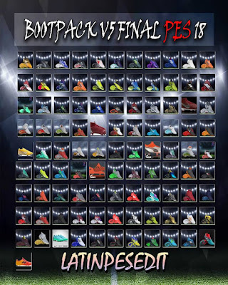 PES 2018 Bootpack v5 AIO by LPE09