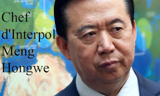 Chef d'Interpol Meng Hongwe