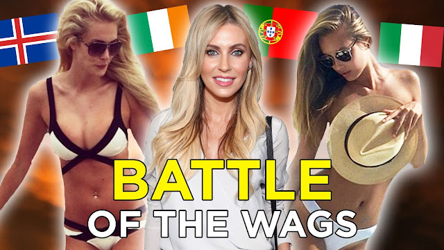 EURO 2016: Hottest WAGs (videos)