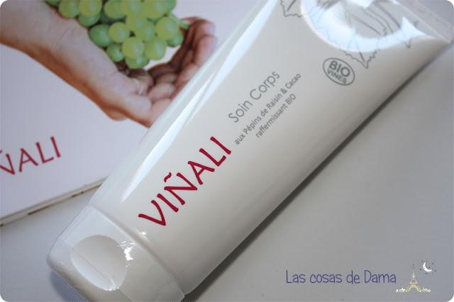 viñali soin corps Vinocosmética cosmética natural