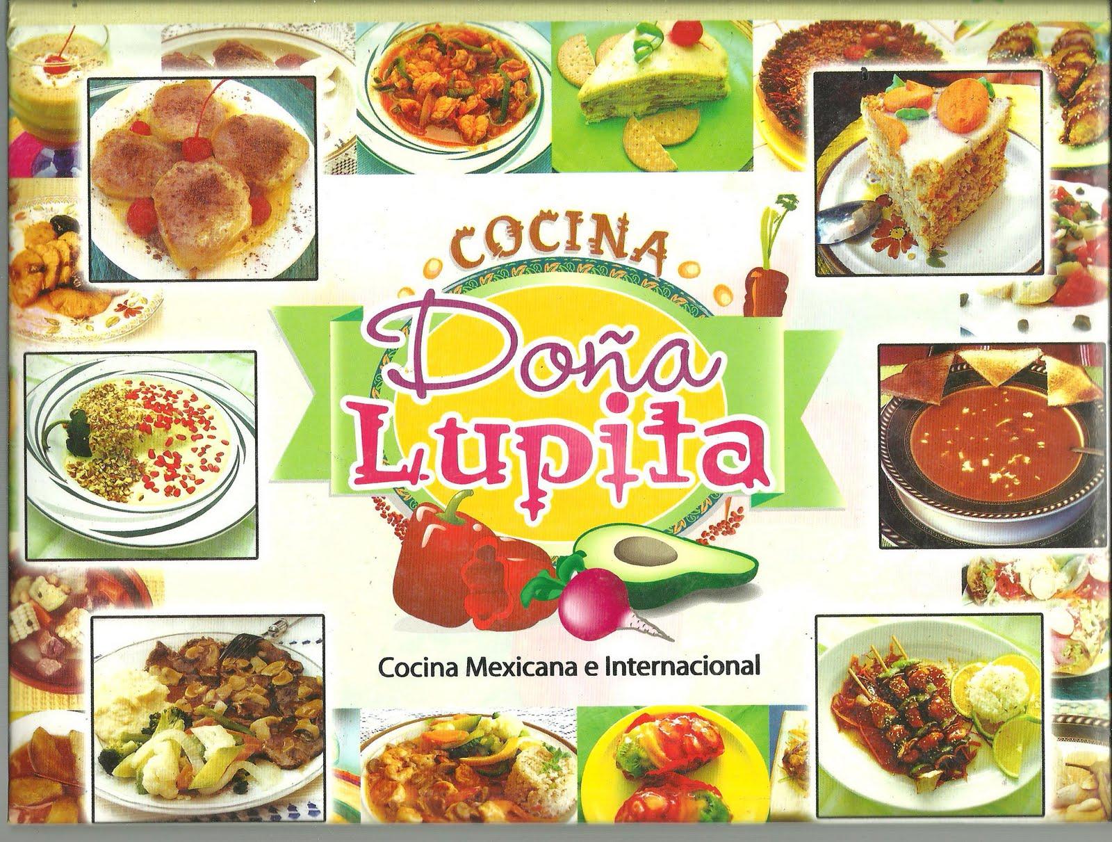 Libros cocina do a lupita for Los mejores libros de cocina