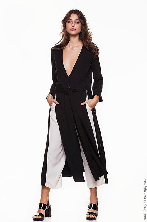 Moda mujer looks de moda primavera verano 2018. MODA: