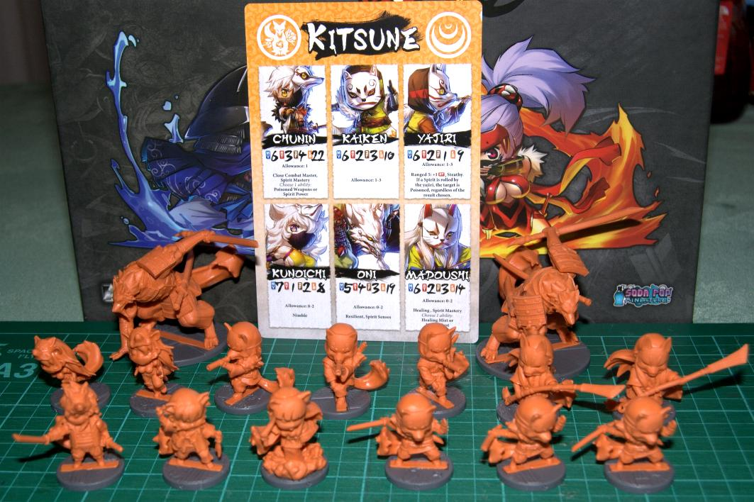 Challenging Stand Alone Cooperative 1-5 Players Miniatures