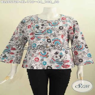 jual blouse batik modern