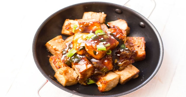 Pan Fried Tofu With Teriyaki Sauce Recipe