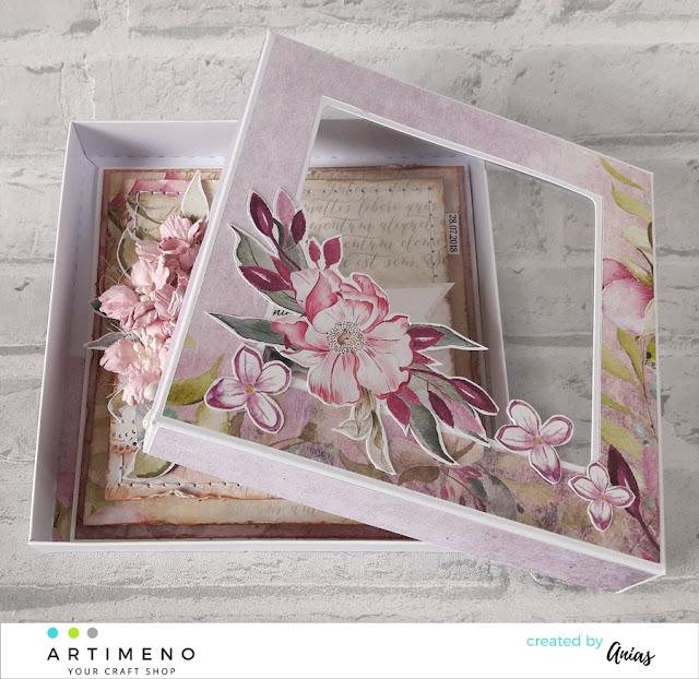 kwiaty wycinane z arkusza
