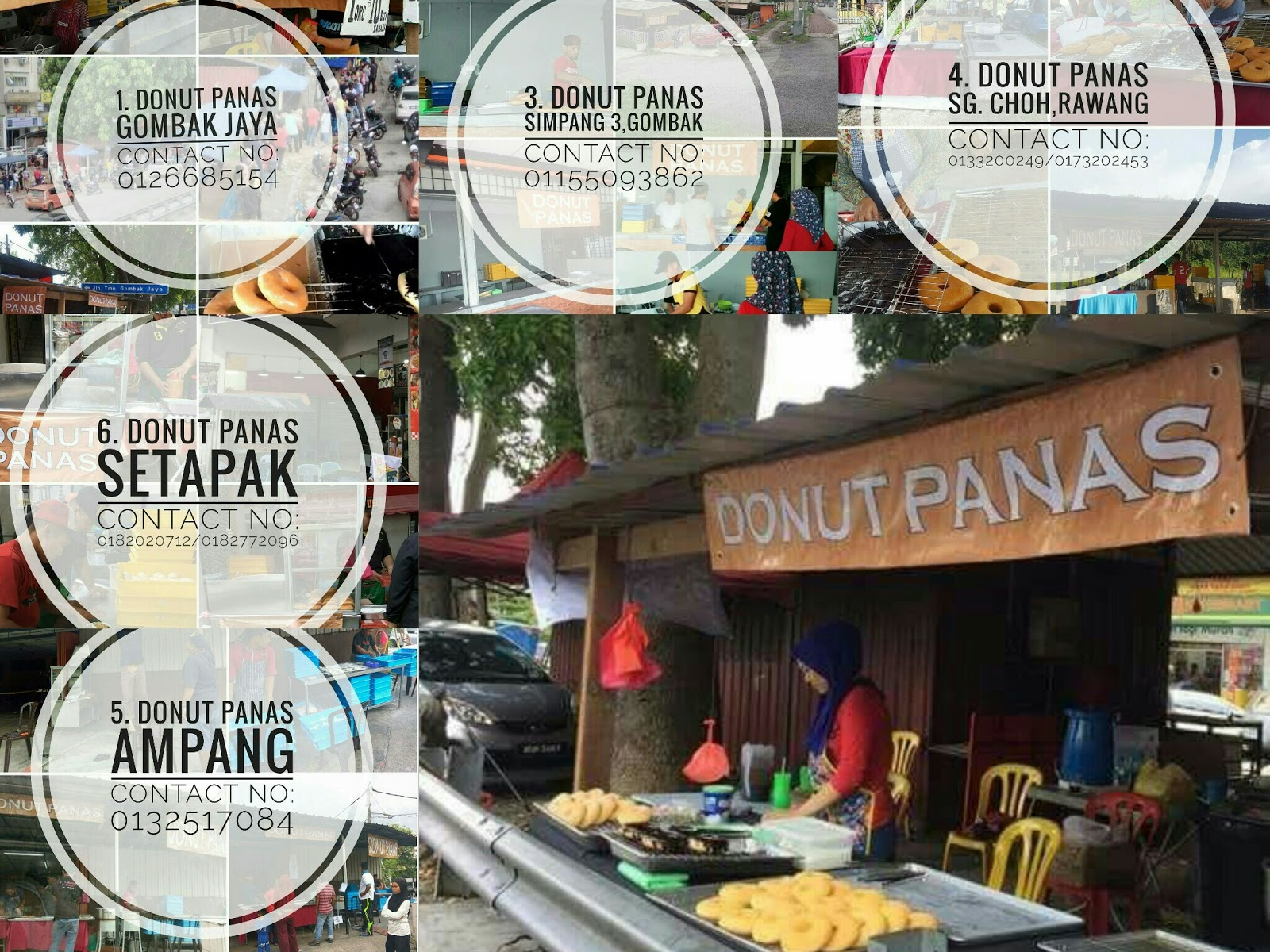 Donut Panas Gombak - Donut Viral