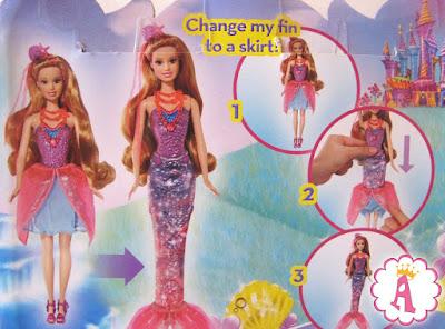 Инструкция как можно превратить игрушку куклу барби в русалочку