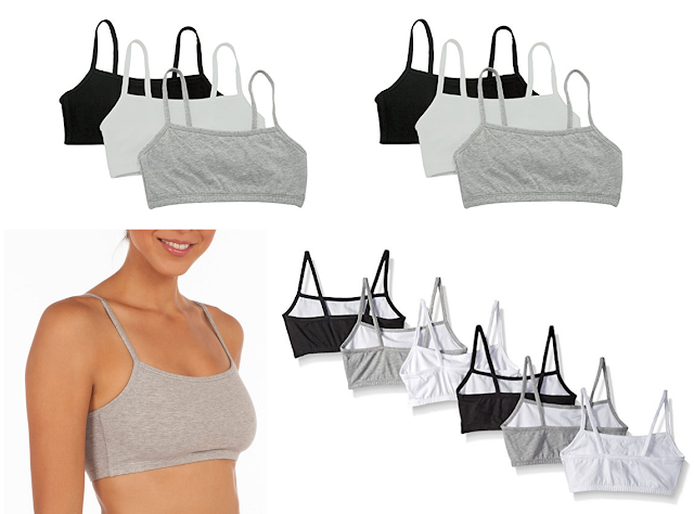 Fruit of the Loom Women's SPAG Sports Bras for under $3 each!