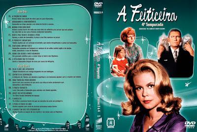 Série A Feiticeira 4º Temporada DVD Capa